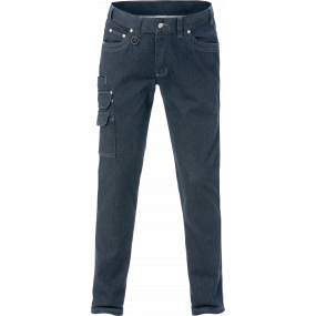 Kansas Service denim stretch bukser 2501, Indigoblå C56