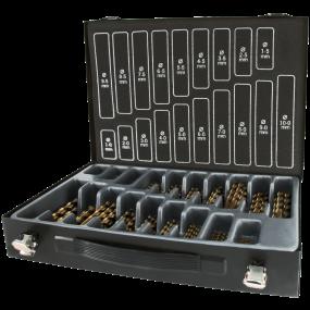 RUKO TERRAX HSS-Co5 borsortiment, 1-10 mm  170 stk bor