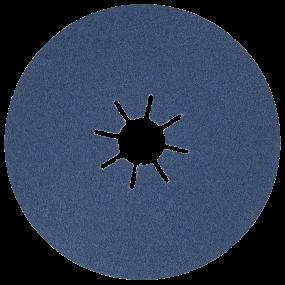 SIA 4819 fiberrondel blå T6413, 125 x 22  K 80