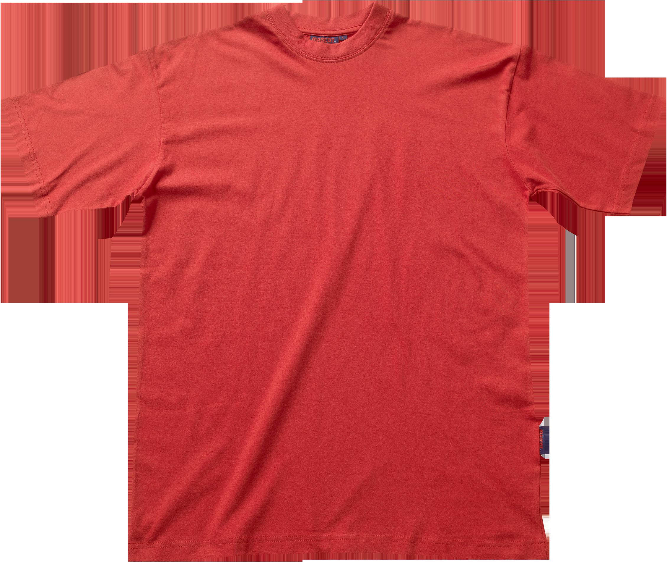 00458187151 Mascot Java T-Shirt, 2XL Rød - T-shirt - Mascot - Arbejdstøj ...