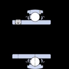 SKF Y-Leje  m/ekstra flocktætning, YAR 204-2RF