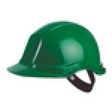 Balance AC Hjelm grøn, m/tagrende + svedbånd og ventilation