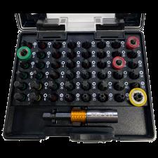 BATO Bitssæt torison, 49 dele  m/bitsholder/magnet