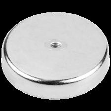 Magnet blank, Ø 80 mm M10 gevind