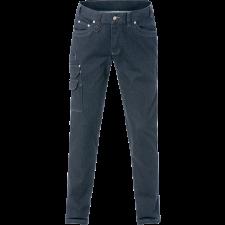 Kansas Service denim stretch bukser 2501, Indigoblå C50