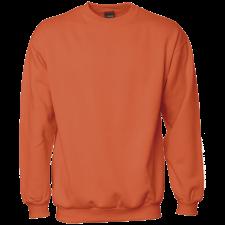 Sweat shirt orange, ID0600 STR. XL