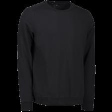 ID Casual Sweatshirt Herre, 0615 Sort 2XL