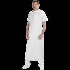 Forklæde plast no. 1, 90 x 110 Hvid