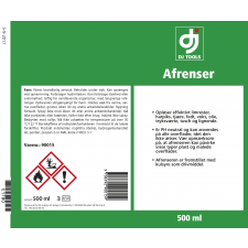 DJ Tools spray, Afrenser 500ml