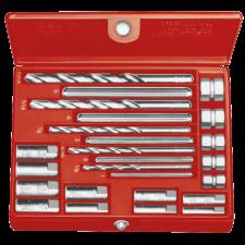 RIDGID SKRUEUDTRÆKKERSÆT 10, Nr. 1-5, 6-13mm, 20 stk værktøj