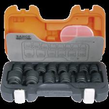 Bahco slagtoppe korte 1/2 (sæt), D/S14 (10-27 mm) 14 stk.