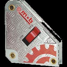 Peddinghaus svejsemagnet m/tænd/sluk, 130 x 150 x 140 mm (op til 63,5 kg.)