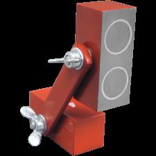 Magnetblok m/ 2 dob. magneter, 60 x 25 x 25 mm