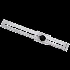 Diesella stregmål flad model, 0-300 mm