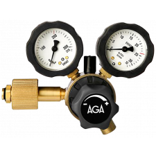 Aga Regulator m/flowmeter, Fixicontrol HT Co2 (kuldioxid)