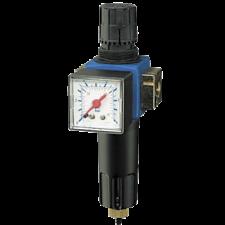 "Parker Filter regulator m/vandudskiller, 0,5-10bar 1/4"" 35 DM3 Metal"