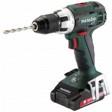 Metabo BS 18 LT COMPACT 2X2,0, 2x 18v 2amp incl. lader