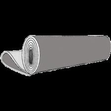 Gummiplade SBR  m. 1 indlæg, 3 mm (bredde 1400 mm)