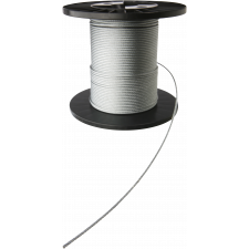 Stålwire 10 mm (6 x 24), (pr. mtr.) Brudstyrke 4400
