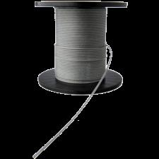 PVC-forhudet stålwire 2-3 mm, (pr. mtr.) Brudstyrke 240kg