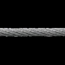 Stålwire 2 mm (6 x 7), (pr. mtr.) Brudstyrke 240kg