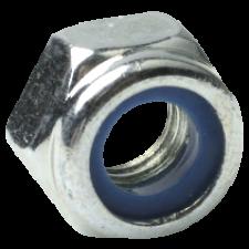 Låsemøtrik stål 8.8 FZB din 985, 10 mm