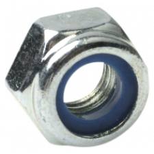 Låsemøtrik fingevind FZB din 985, 10 x 1 mm