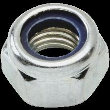 Låsemøtrik stål 8.8 FZB din 985, 18 mm