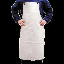 Oksehudsforklæde, m/sejlringe lgd. 100cm
