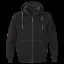 Acode Acode Sweatshirt jakke med hætte,, herre Sort 2XL (gl. 1-1745-90)
