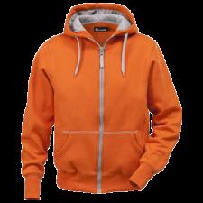 Acode Acode Sweatshirt jakke med hætte,, herre Orange L (gl. 1-1745-75)