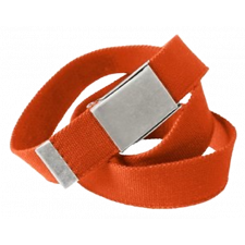 Acode Acode Kanvasbælte, Orange ONE Gl. nr 1-1659-