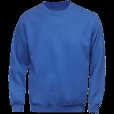 Acode Klassisk sweatshirt, Kongeblå 2XL (gl. 1-1734-16)