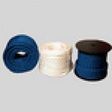 Fortøjningsline blå 3-slået. soft, 12 mm (pr. mtr.)