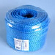 Blå danaflex reb, 3-slået 5 mm (pr. mtr.)
