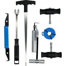 Brilliant Tool, Forrude-afmonteringssæt, 7 dele